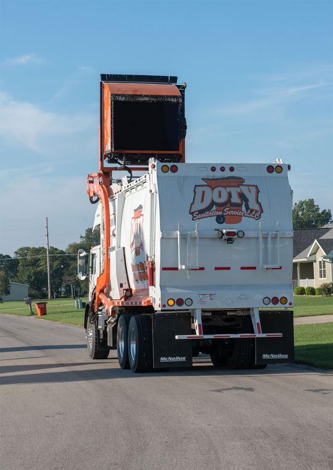 Doty Sanitaiton Residential Trash Pickup